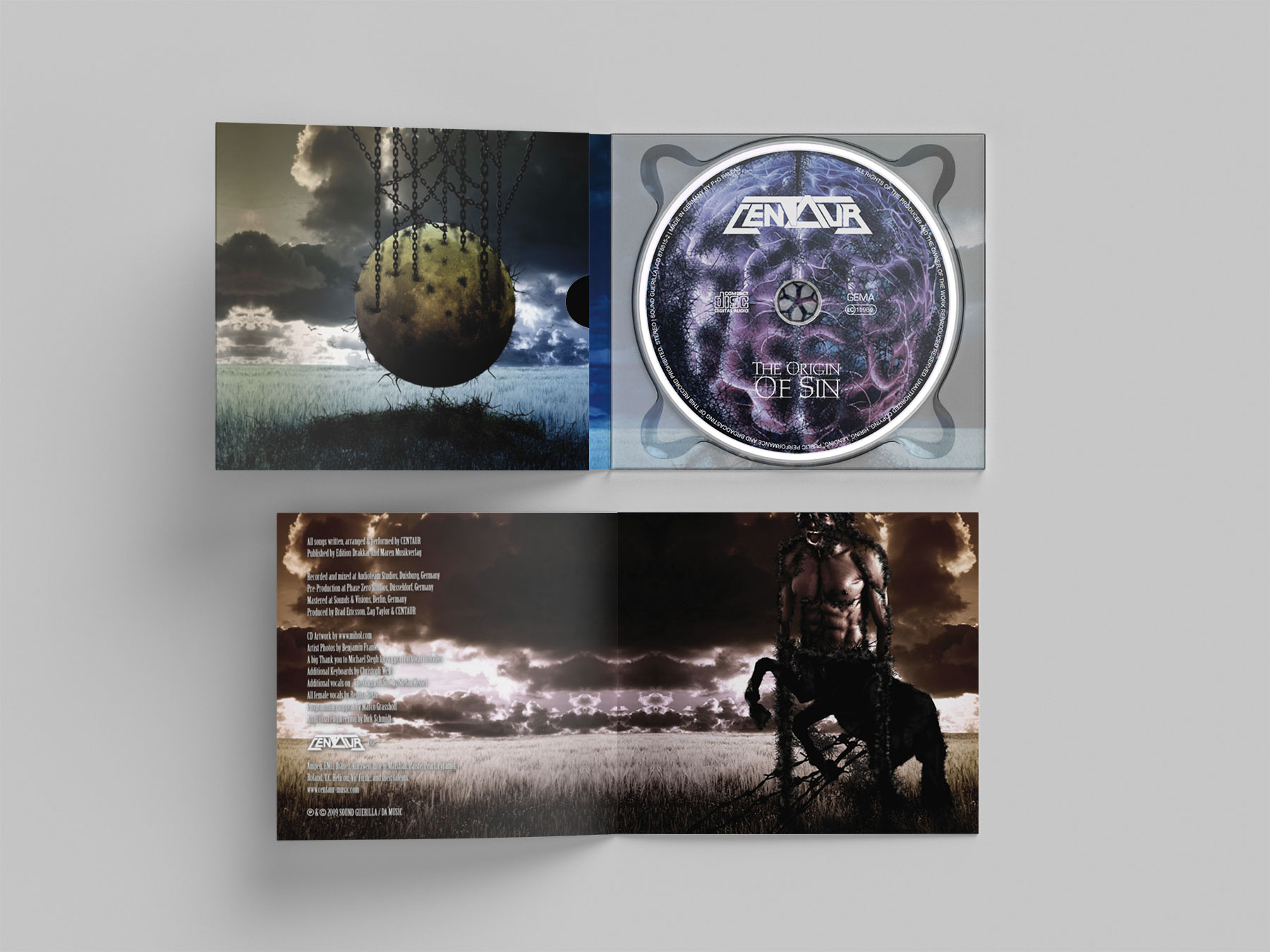 Centaur - CD Digipak & Booklet