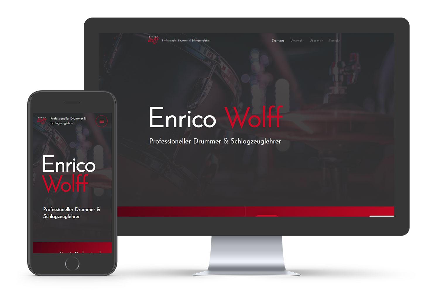 Enrico Wolff - Webdesign