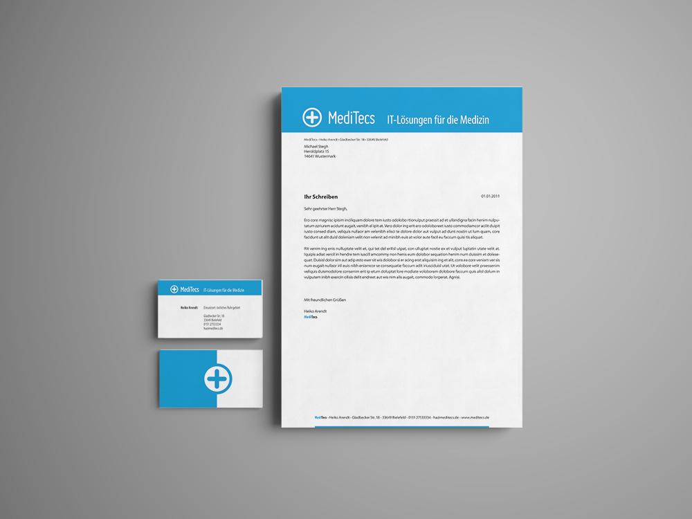 MediTecs - Geschäftspapiere