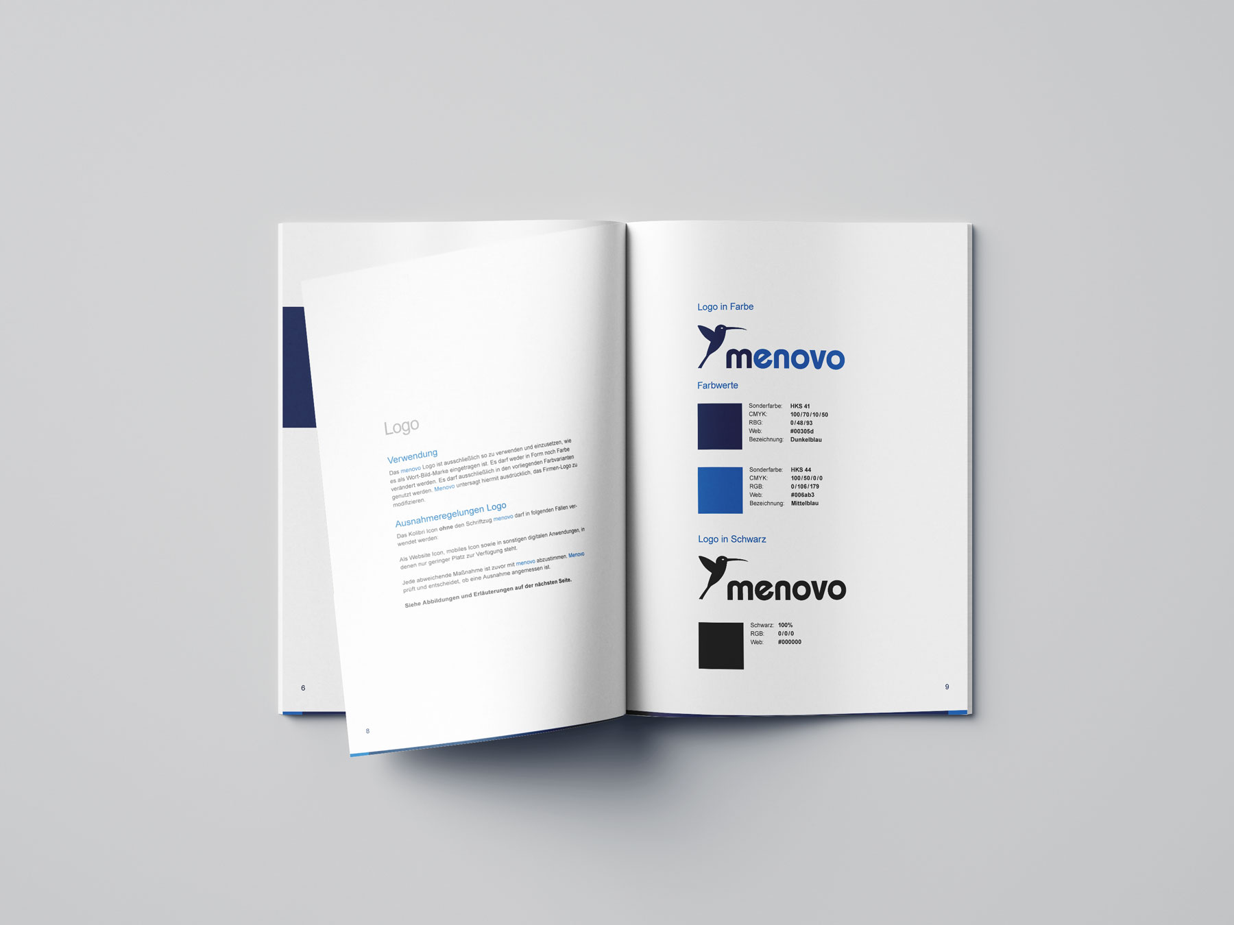 menovo GmbH - Corporate Design