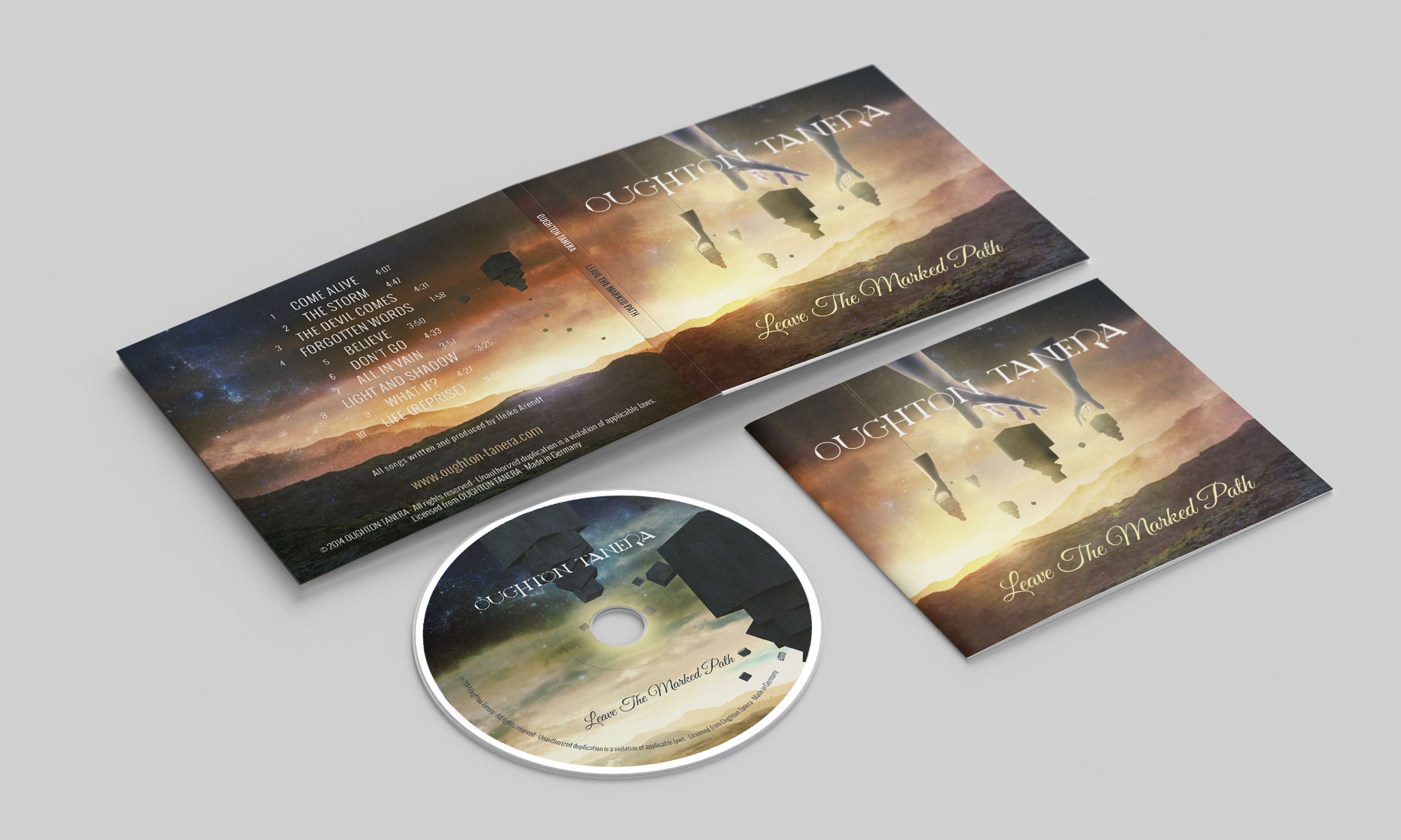 Oughton Tanera - CD Digipak & Booklet