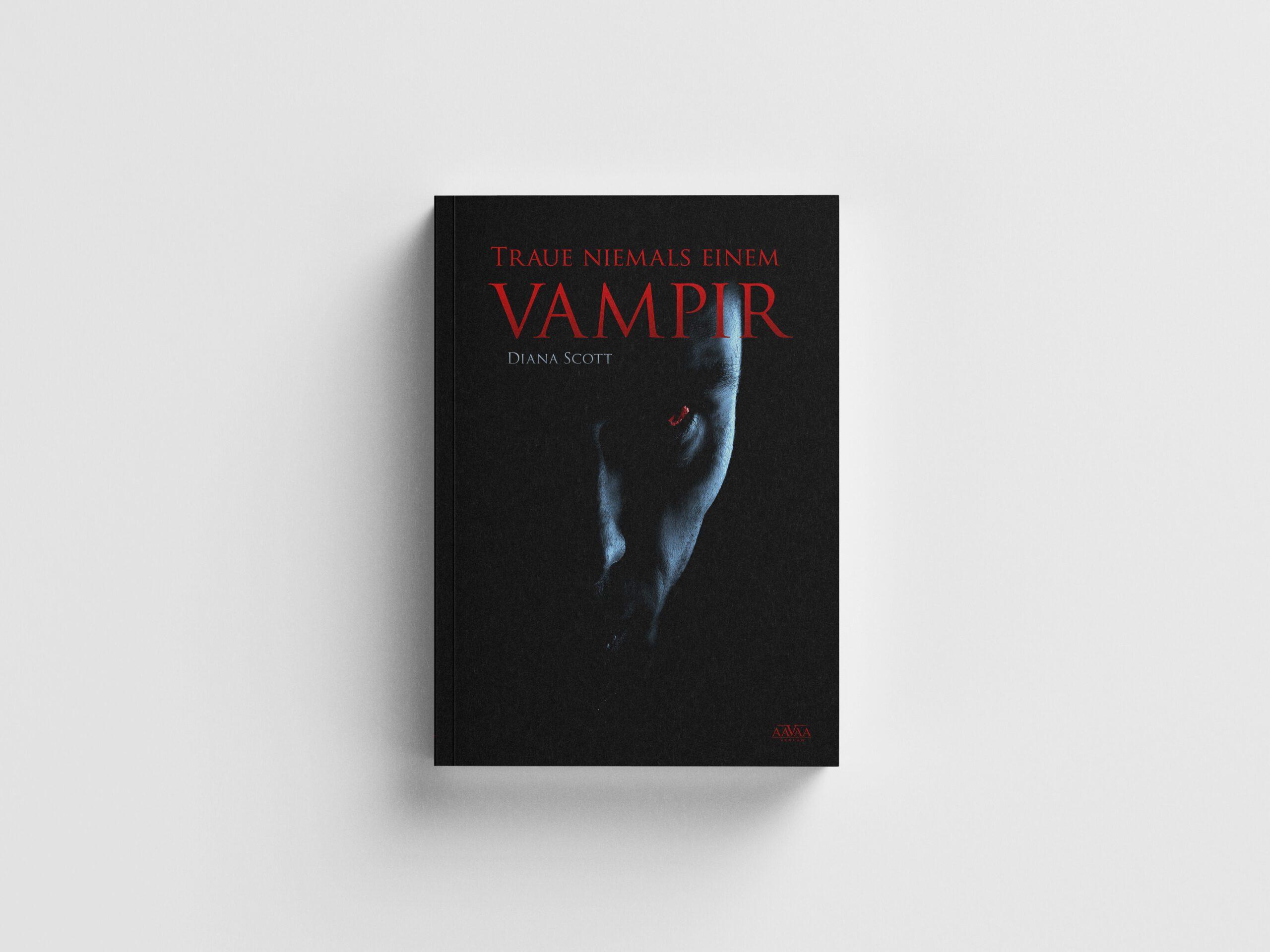 Traue niemals einem Vampir Buchcover