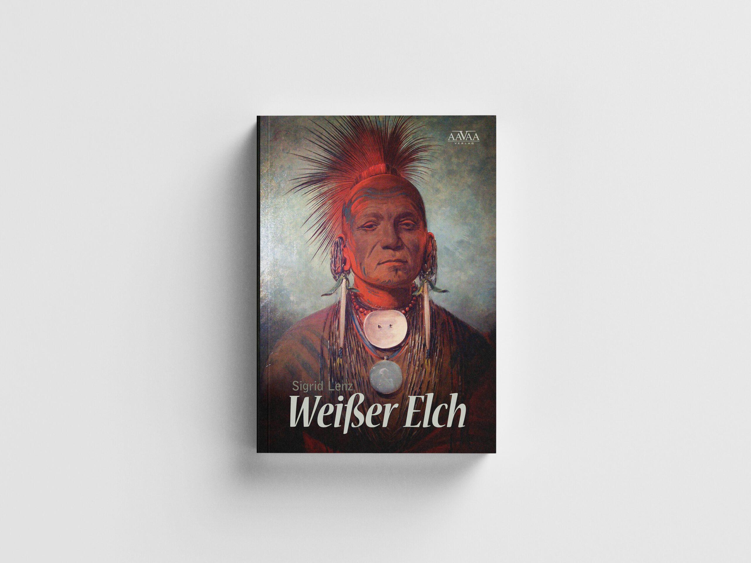 Weißer Elch - Buchcover