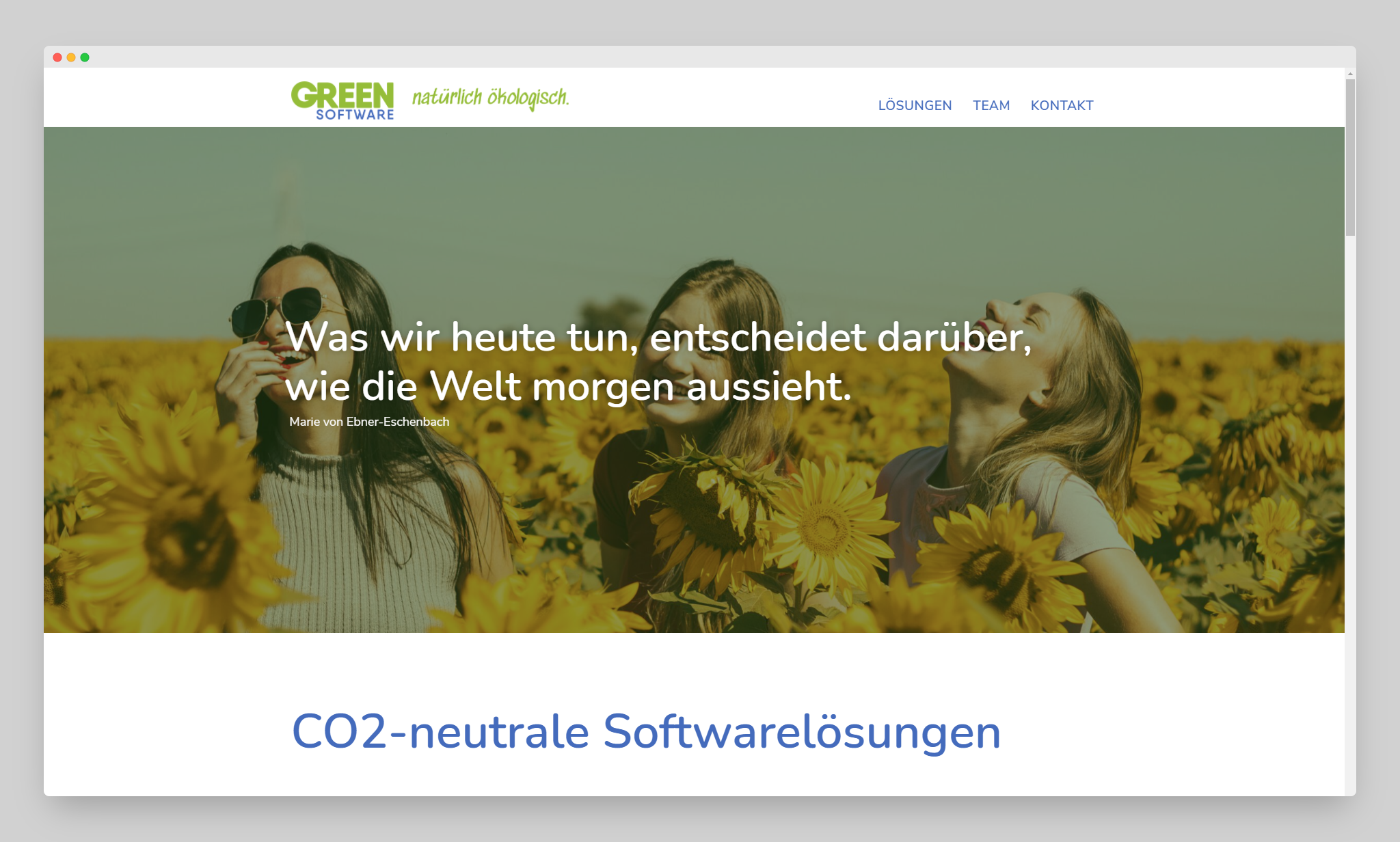 Green Software Website